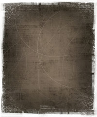 textured background with grunge frame
