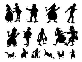 fun silhouettes