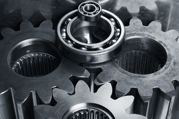 gears and bearings concept