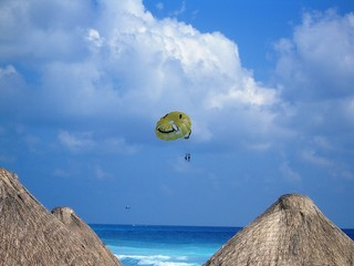 mexique parachute ascensionnel