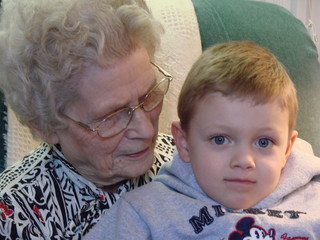 moments with great grandma