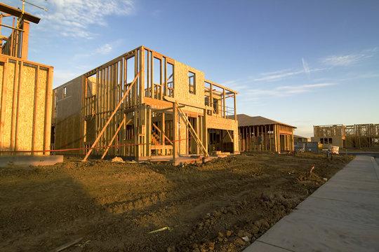 subdivision under construction