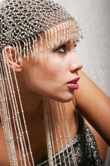 beautiful ethnic woman