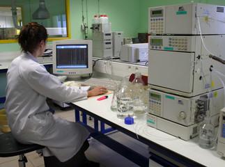 travail au labo