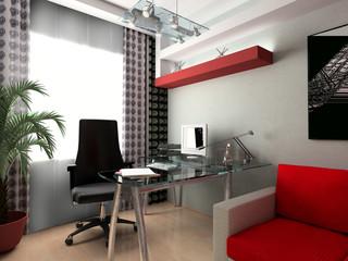 glass workplace