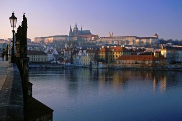 Printed kitchen splashbacks Prague prague castle