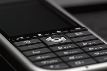 close-up shot of modern smartphone