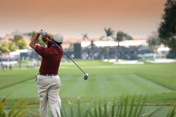 Poster Golf golf swing in doral, miami