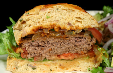 hamburger half