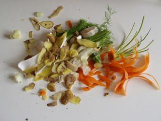 scarti di verdure