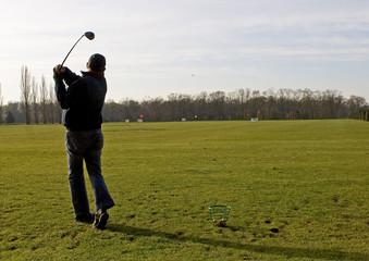 golf et joueur 9