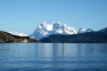 paysage chilien, les andes