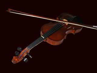 violon font noir