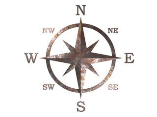 3d generated compass