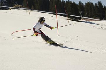 slalom spécial dans les stations francaises