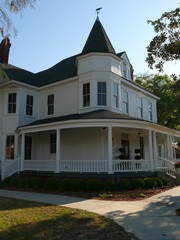 house with corner porch