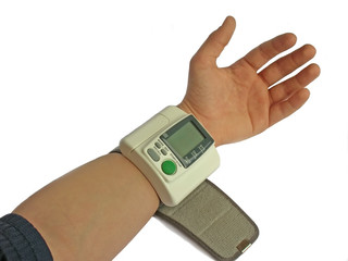 measurement of a blood pressure
