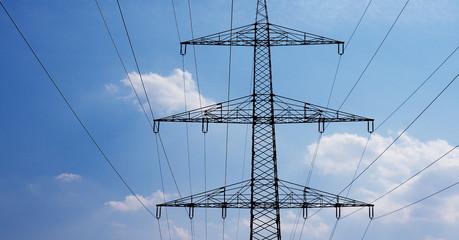 energiebahnen unter dem himmel
