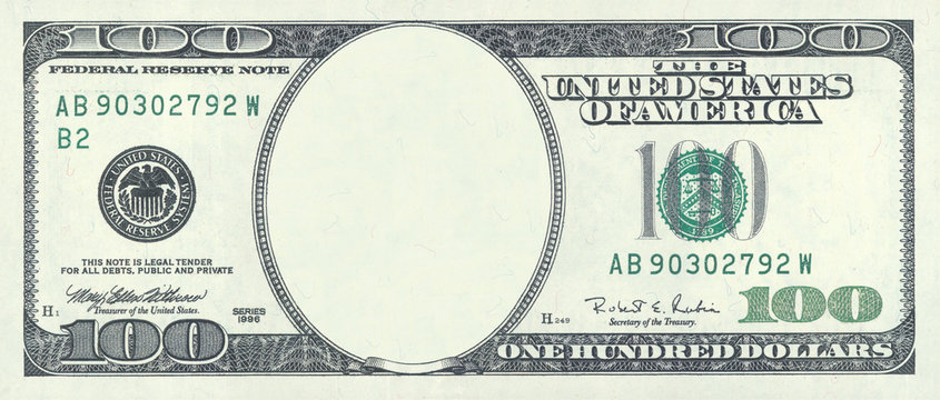hundred dollar blank