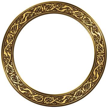 keltischer ornament rahmen