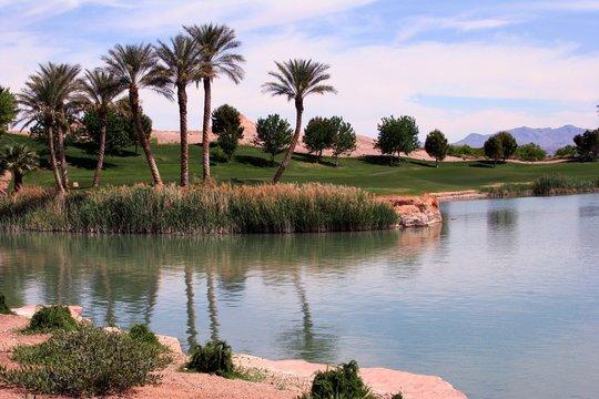 golf course at lake las vegas