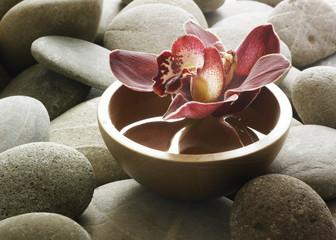 Obraz décor  floral zen - fototapety do salonu