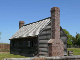 building at old fort
