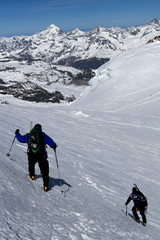 alpine climbers