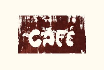 lettering cafe