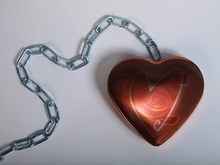 heart at chain