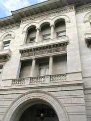 us post office & court house - detail
