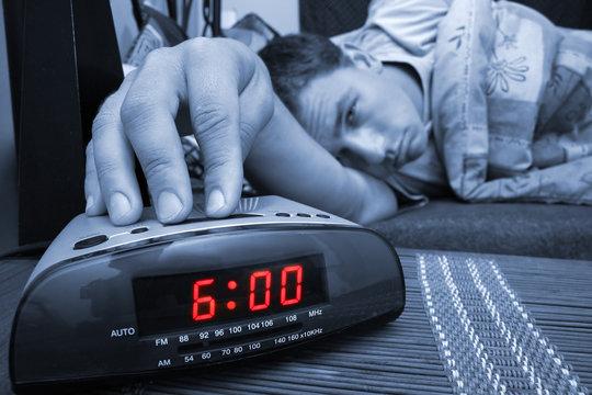 alarm clock guy