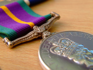 accumulated campaign service medal