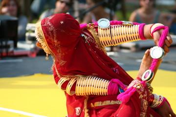 danse, indienne Fototapete