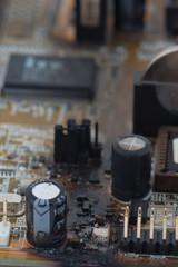 fried motherboard