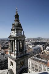 budapest - campanile santo stefano