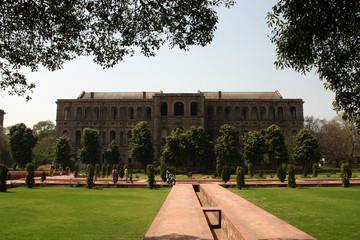 Printed kitchen splashbacks Delhi red fort delhi gardens