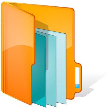 dossier orange