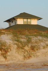 top turret at beachhouse