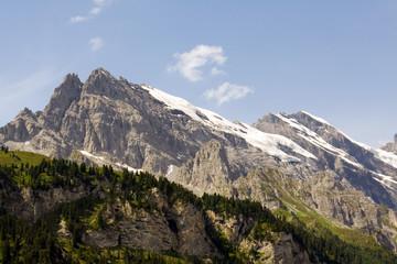 the jungfrau mountains, switzerland