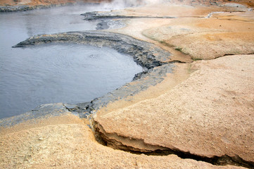 hot mineral spring