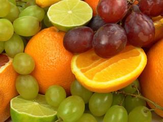 Poster Vruchten delicious fruits