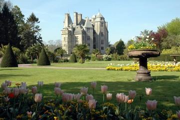 chateau et parc