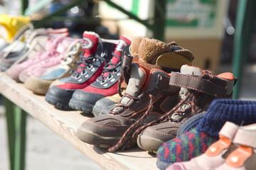 antique market boots