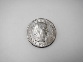 susan b. anthony dollar front