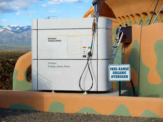 hydrogen fueling station for vehicles