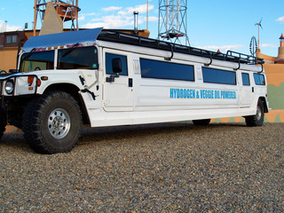 off-road bio diesel / hydrogen powered limo