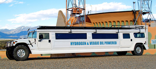 off-road bio diesel / hydrogen powered limo