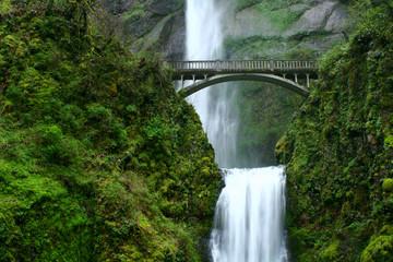 Printed roller blinds Waterfalls multnomah falls