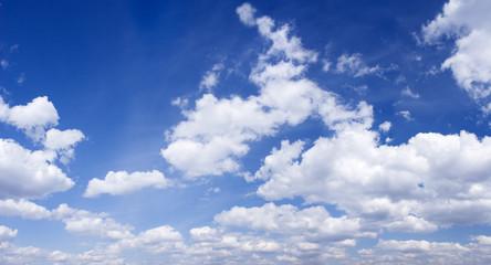 blue sky panoramic photo